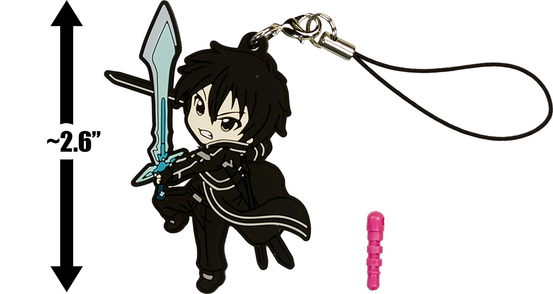 Kirigaya Kazuto Phone Charm by Hobby Stock Sword Art Online II *NEW* Pikuriru