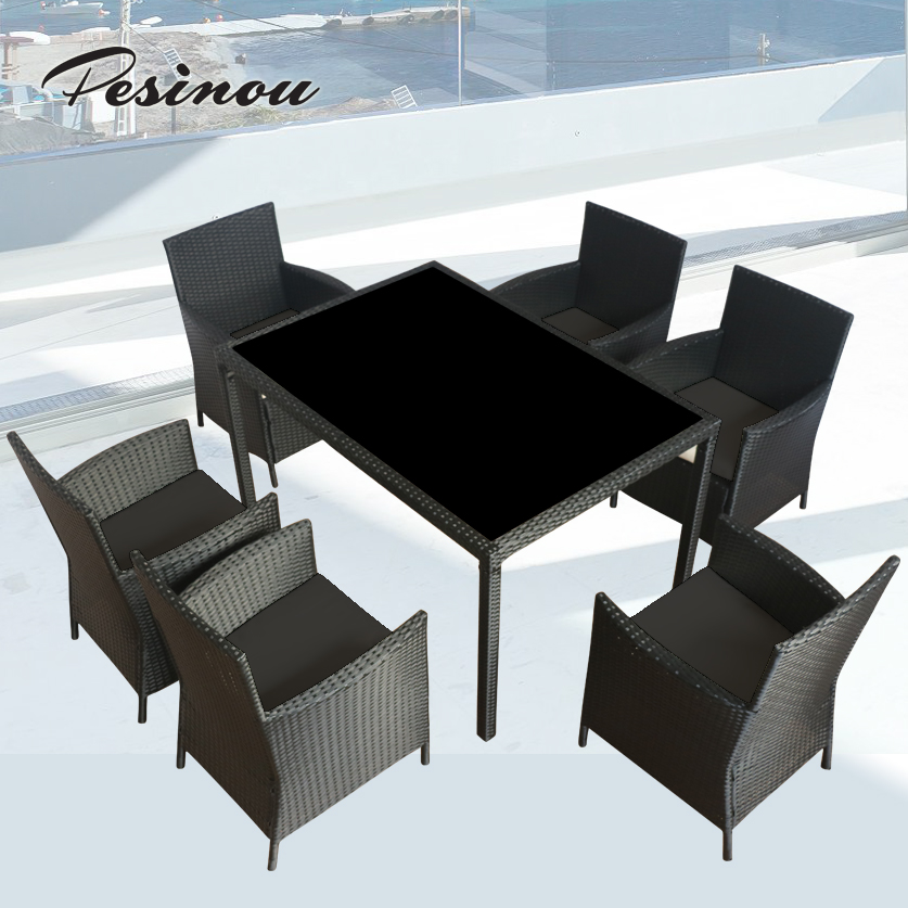 Patio garden outdoor rattan garden dining furniture ratan products