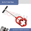 2'' to 14'' Manual Pipe Cutter