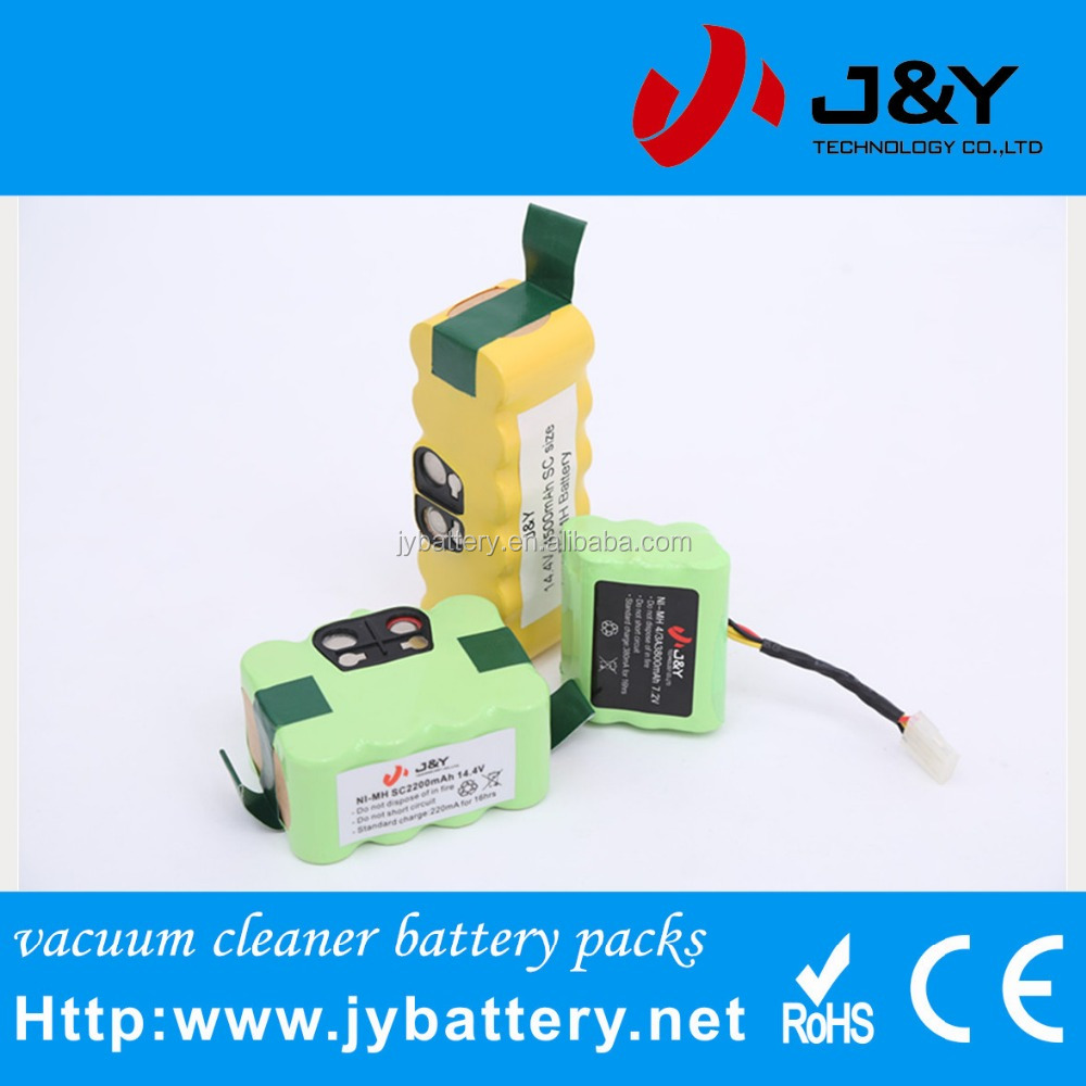 most popular vacuum cleaner XR-210 replacement battery Ni-MH 14.4V SC2800mAh rechargeable battery pack