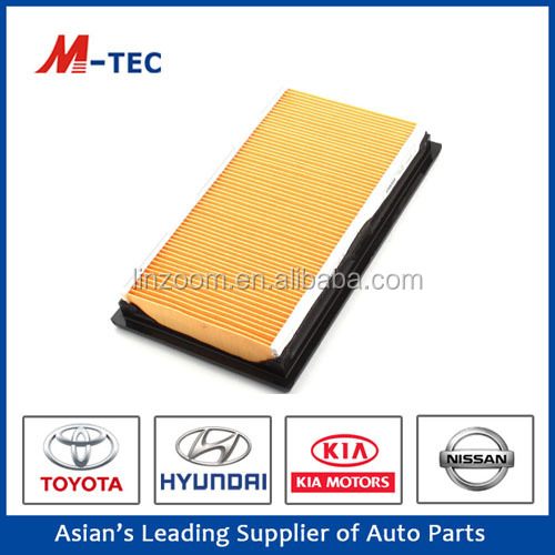 High efficiency car intake air filter OE NO 16546-ED500 for sale