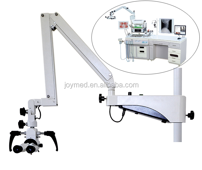3 Step Magnification (3X-12X) Operation Microscope Specially for ENT Treatment Unit
