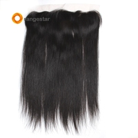 Hairline Lace Frontal Hair Pieces Invisible Side Part Middle Three Free Part 13X6 lace frontal Closure