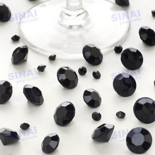 Factory Price Crystal Confetti / Wedding Decoration Table Scatter / Sell Well 5.5mm Acrylic Diamond