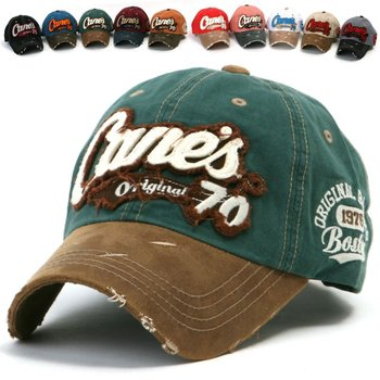 017408a9ace ililily Distressed Vintage embroidered Patch Pre-curved Baseball Cap with Adjustable  Strap Snapback Trucker Hat