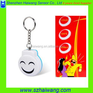 Smiling Personal Alarm Protector With Key Ring Personal emergency Alarm