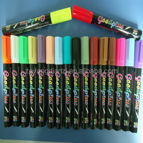 liquid chalk marker/ erasable chalk marker pen