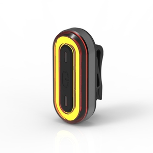 Machfally BK400 accelerometer Intelligent brake Night lamp COB LED USB Rechargeable Bicycle Rear Bike for riding Light