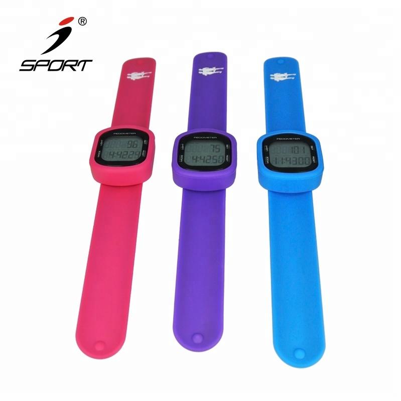 Schrittzähler Lcd Smart Armbanduhr Armband Sport Monitor Laufen Ausübung Schritt Zähler Fitness Silikon Heißer Verkauf Schrittzähler