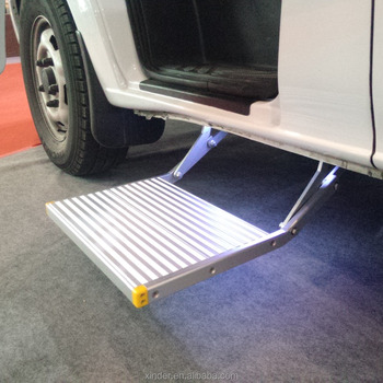 Single Folding Electric Vehicle Ladder steps with CE Certificate
