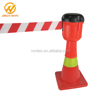 T-top 9m Retractable Tape Barrier / Traffic Cone Topper - Buy Retractable  Tape Barrier,9m Retractable Tape Barrier,T-top 9m Retractable Tape Barrier