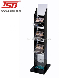 Tsd-M1003 Magazine Stand Display Rack ,Literature Holder Floor Stand,bookstore Stand