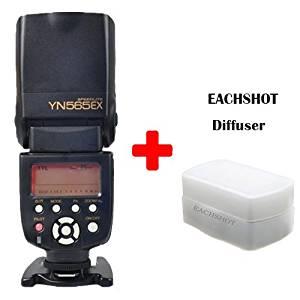 YONGNUO YN-565EX YN565EX YN-565 EX ITTL I-TTL Flash Speedlight/Speedlite for Nikon With EACHSHOT® Diffuser