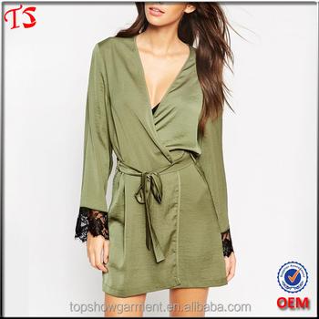 27877771ad Apparel Factory Wholesale Oem Design Satin Silk Robes Women ...