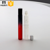 red black colored surface glass 15ml roll on bottle for perfume test sample