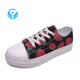 Hot online cheapest no minimum order quantity shoes for girls cheap canvas shoes