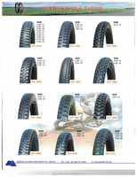 Hot Sale China Made Price 6 Ply Motor Cycle Tire 110/90-19 Motorcycle tire