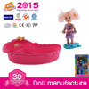 Educational Toy Silicone Doll Wholesale Small 3.5 Inch Baby Dolls and 11.5 Inch Doll Set