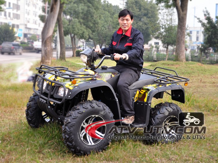 Four Wheeler With Rims: 3000w Atv 4 Wheels Adult Electric Quad Bike Off Road Quad
