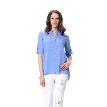 0e80b8e1b36 Add to Favorites · wholesale ladies chiffon long shirt semi casual blouse  for women