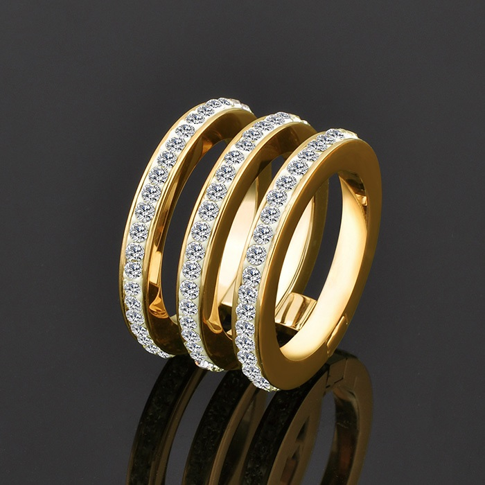 Ally Express Cheap Wholesale New Design Gold Ladies Finger Ring For ...