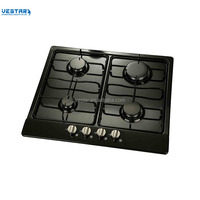 2018 new design gas stove with 4 burner built in gas hob/ home gas stove