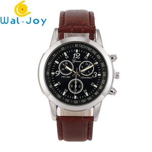 WJ-7424 2018 Fashion High Quality Cheap Casual Watches Scale And Number Dial Wristwatch Luxury Noble Business Watch For Men