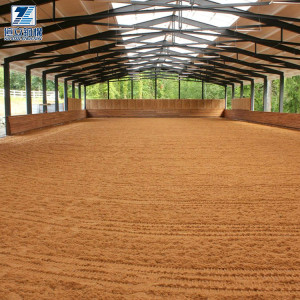 Steel structure shed metal riding arenas horse stable barn