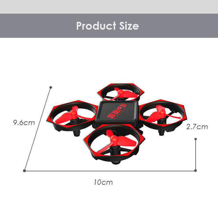 3.7V Battery Operated RC Hobby H36 Mini Drone H36 Quadcopter