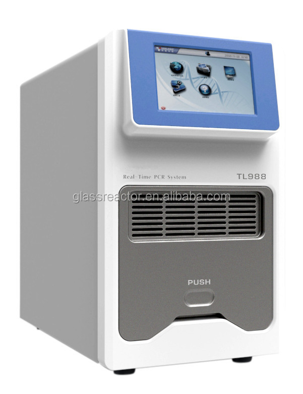 High Precision pcr thermal cycler for DNA amplification4 channel Real Time PCR & Peltier-based Thermal Cycler TL-988