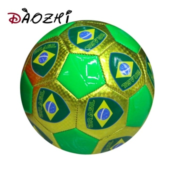 b09c60805 size 5 Brazil country flags customized printed phthalate free soccer ball  for promotion