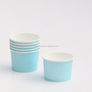 4oz disposable paper ice cream cup