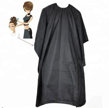 Wholesale Professional Polyester Hairdressing Cape Hair Cutting Cape Barber Cape