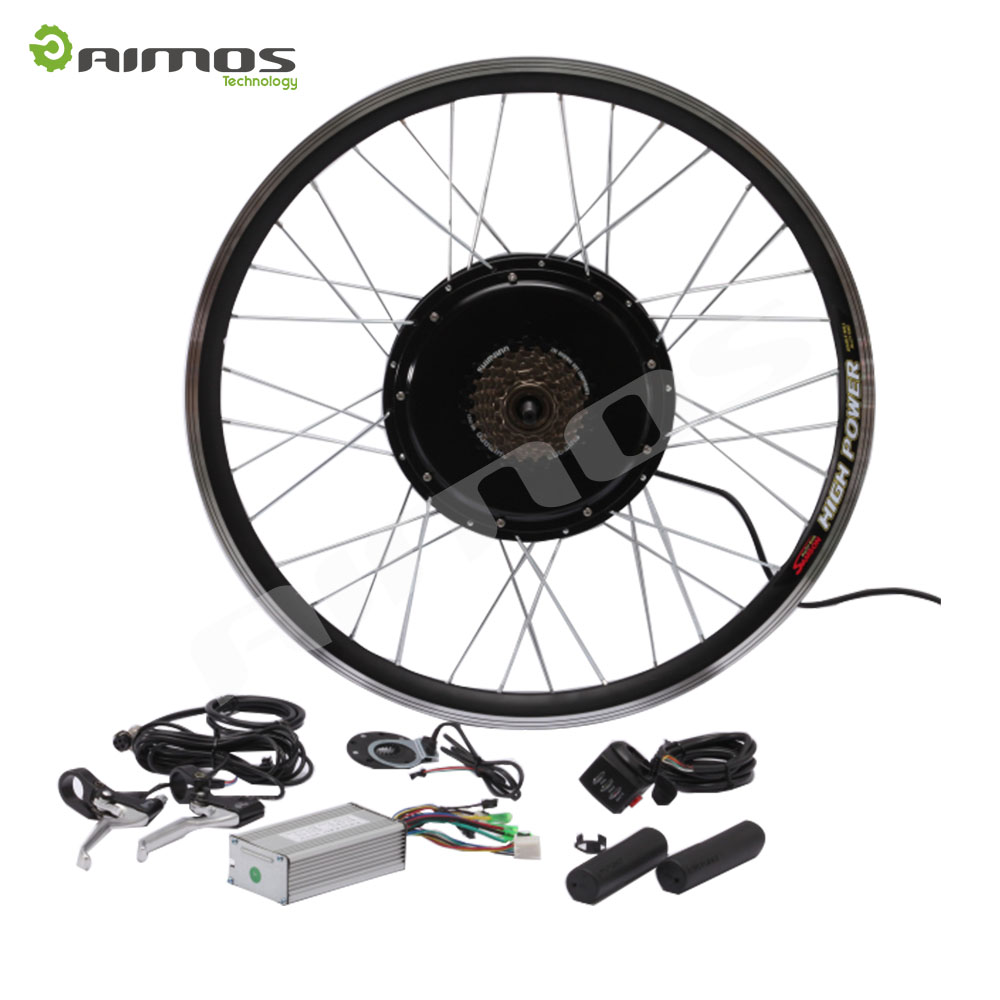 Geared motor cheap 36V 250W 350W external controller electric bike kit with Thumb Throttle