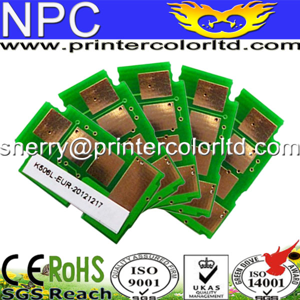 For Samsung CL-506S 506 color toner chip for use in CLP-680/680DW/680DN CLX-6260FR/6260FD/6260FW//6260ND/6260NR