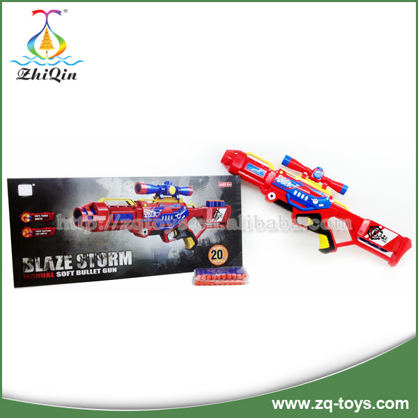 Good quality plastic electric airsoft gun toy for children