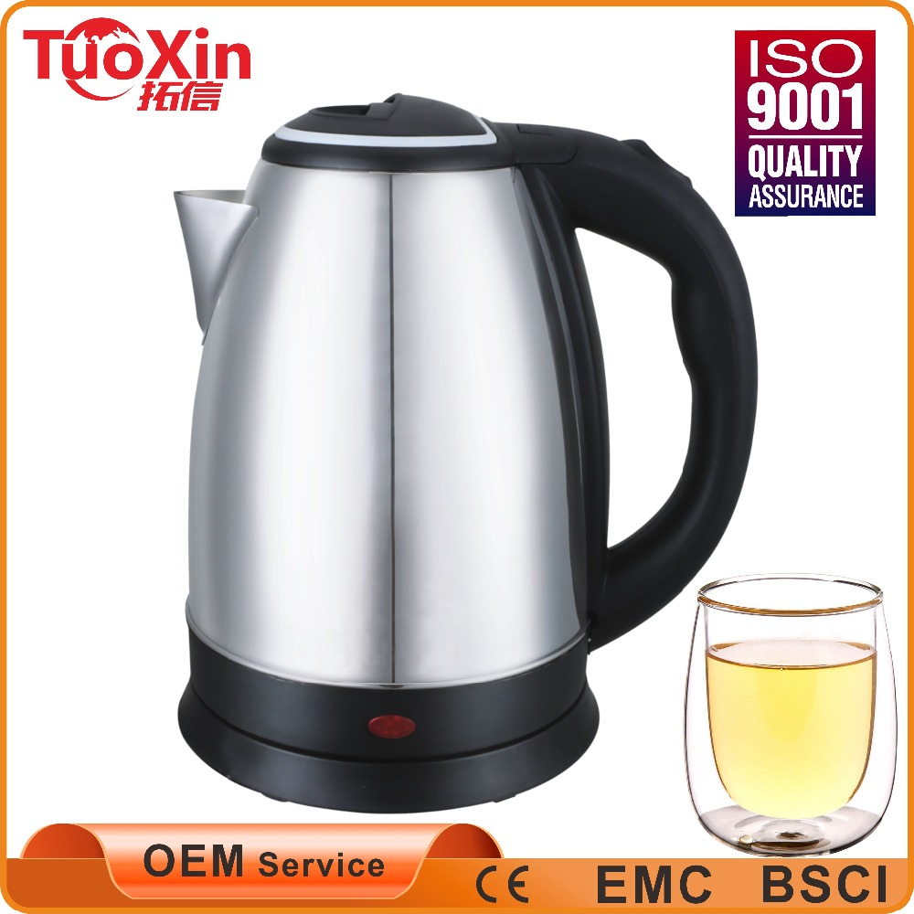 Fashion style 1.8 liters low price stainless steel cordless 360 degree rotation electric kettle, boiling fast,kettle electric