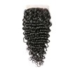 Distributors Wholesale Brazilian 100% Human Hair Deep Curly Wave 4*4 Lace Frontal Closure