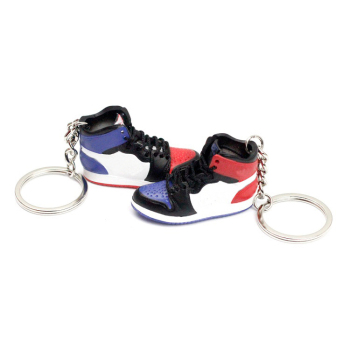 best promotion 3d aj 1 not for resell top 3 mini Handcrafted 3D Sneaker Keychain