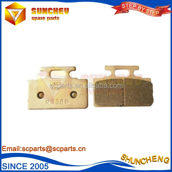 Motorcycle Parts High performance OEM Provided sintering disc brake pad