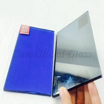 China Factory Cheap blue reflective glass price m2