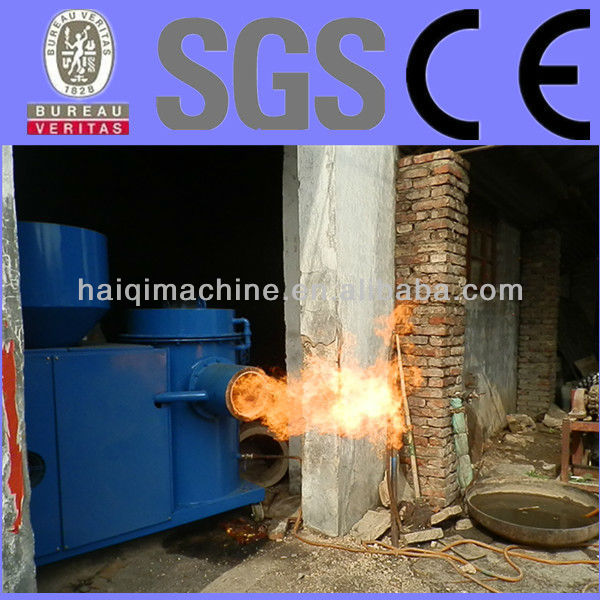 wood pellet, sawdust wood powder powder burner for hot water boiler