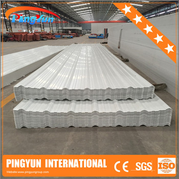 Uv Resistant Plastic Roofing Sheet Heat Insulation Pvc
