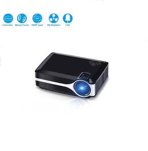 cube mini portable design led type hd home projector for christmas