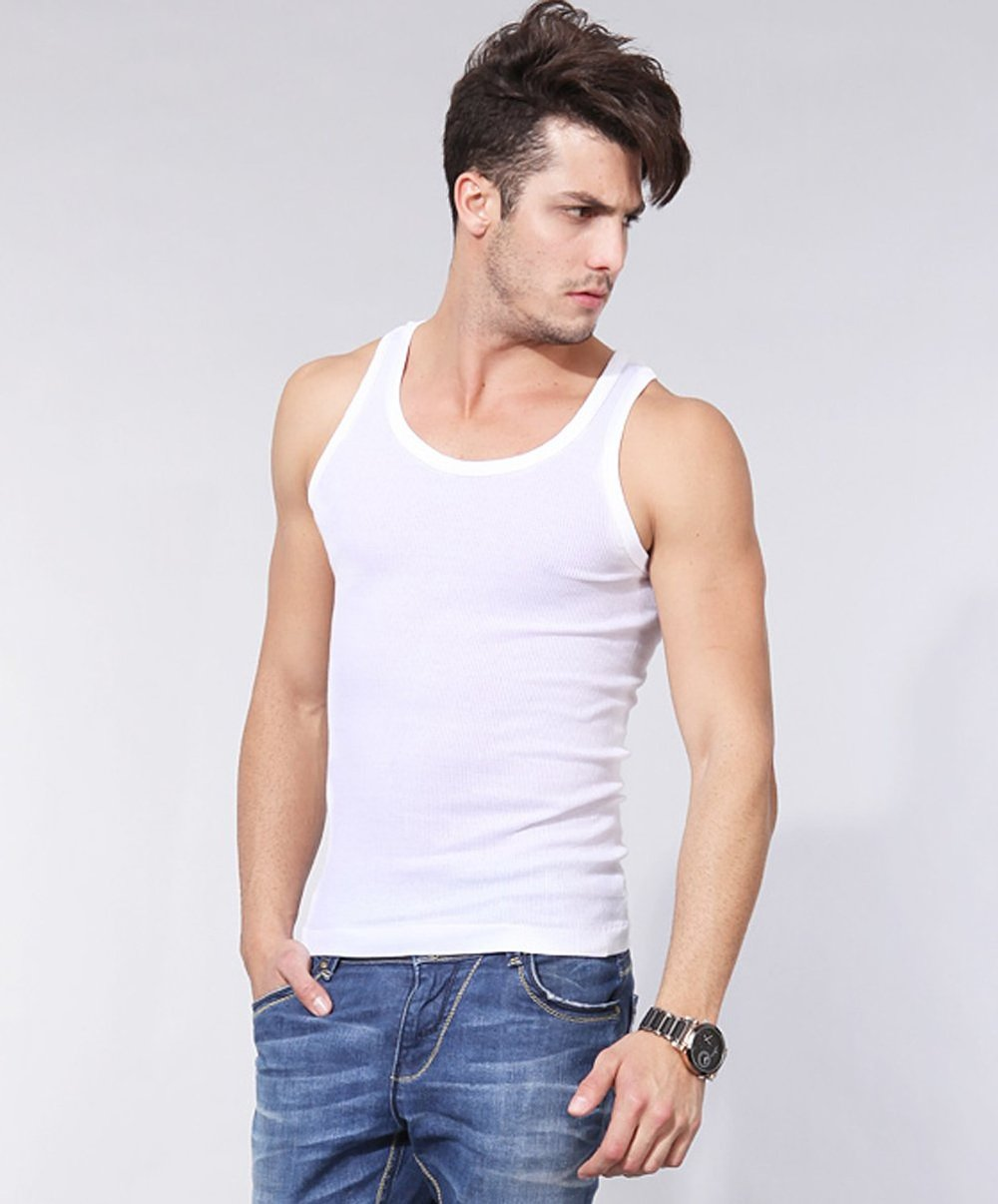 299cd977f03ab Mens Blank Extra Long Tank Top With Skater Fit - Buy Mens Tank Top ...