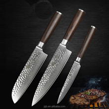 Professionelle Japanische 7 zoll damaskus chef <span class=keywords><strong>santoku</strong></span> mit pakkaholz griff