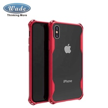 Wadegroup Hohe qualität solide stoßfest handy tpu fall für <span class=keywords><strong>iphone</strong></span> x