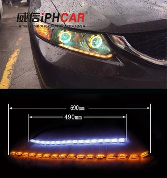 Car Parts Accessories Daytime Running Digital Led Strip Horse - Car signal light