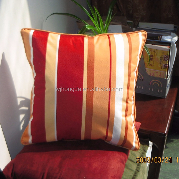 Outdoor cushion /pillow fabric spun <strong>polyester</strong>