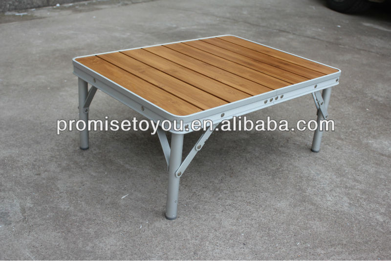 Bamboo Folding Table Outdoor Camping Table Bamboo Top Aluminium Base Table Buy Bamboo Folding Table Outdoor Camping Table Bamboo Top Aluminium Base
